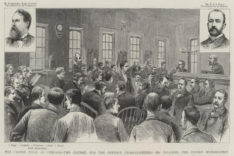 The Cronin Trial at Chicago Giclee Print