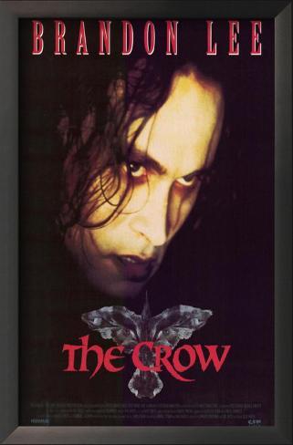 The Crow Impressão artística emoldurada