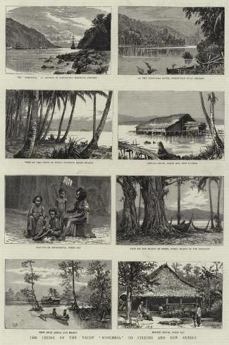 The Cruise of the Yacht Marchesa to Celebes and New Guinea Giclee Print