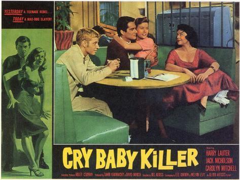 The Cry Baby Killer, 1958 Art Print
