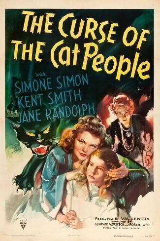 The Curse of the Cat People, Simone Simon, Ann Carter, Julia Dean, 1944 Lámina