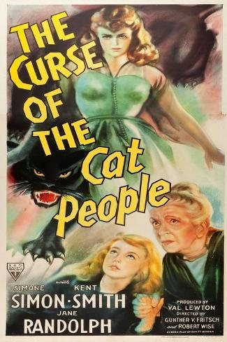 The Curse of the Cat People, Simone Simon, Ann Carter, Julia Dean, 1944 Art Print