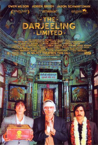 The Darjeeling Limited ポスター
