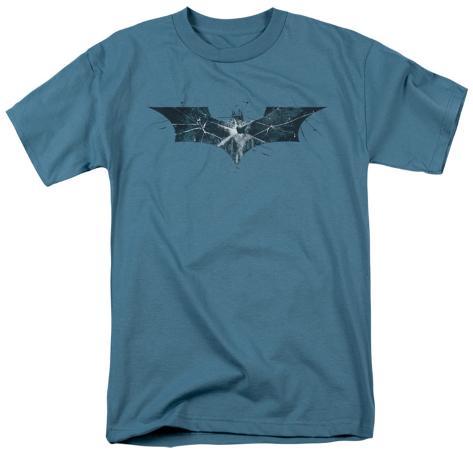 The Dark Knight Rises - Cracked Glass Logo T-Shirt