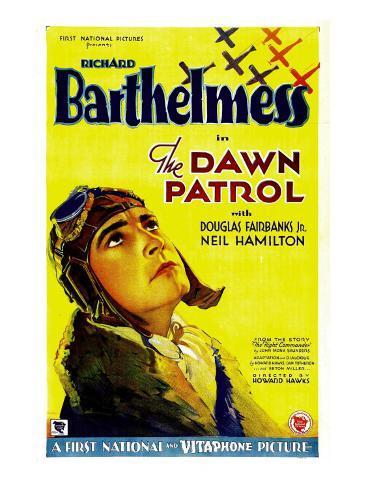 The Dawn Patrol, Richard Barthelmess, 1930 Photo