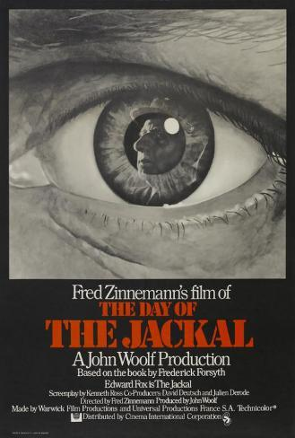 The Day of the Jackal - UK Style Poster