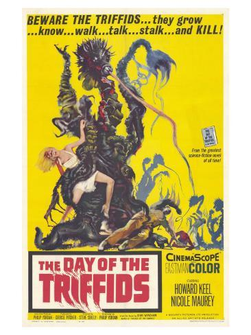 The Day of the Triffids, 1963 Art Print