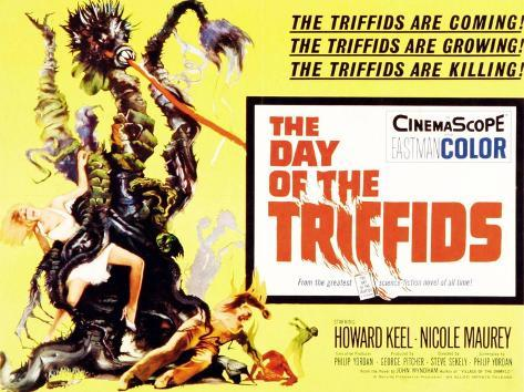 The Day of the Triffids, UK Movie Poster, 1963 Lámina