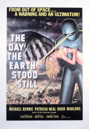 The Day The Earth Stood Still (Keanu Reeves, Jennifer Connelly) Movie Poster Reimpresión de póster