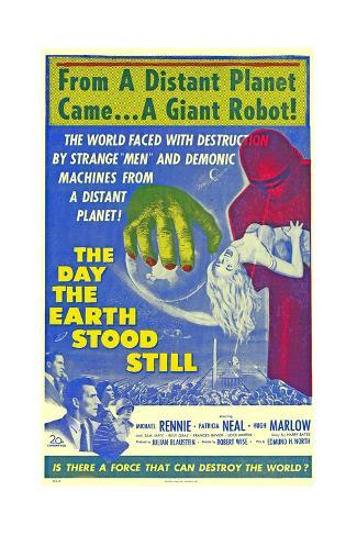 The Day the Earth Stood Still Art Print