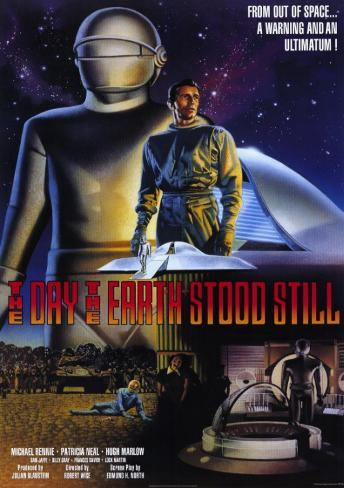 The Day the Earth Stood Still マスタープリント