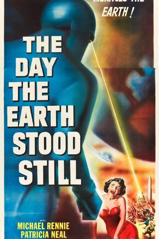 THE DAY THE EARTH STOOD STILL Art Print