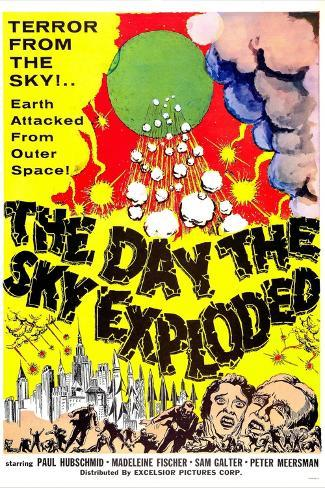 The Day the Sky Exploded Art Print