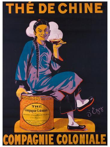 Thé de Chine Giclee Print