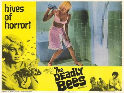 The Deadly Bees, 1967 Art Print
