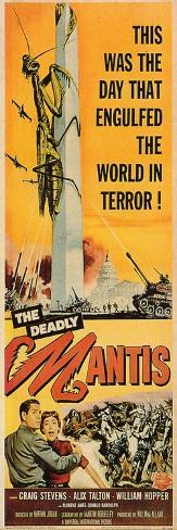 The Deadly Mantis, 1957 Art Print