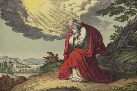 The Death of Moses Lámina giclée