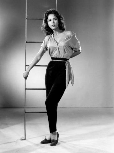 The Decks Ran Red, Dorothy Dandridge, 1958 Photo