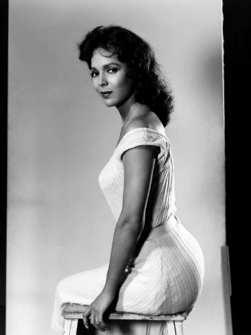 The Decks Ran Red, Dorothy Dandridge, 1958 Photo
