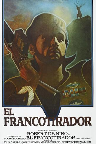 The Deer Hunter (aka El Francotirador) Art Print