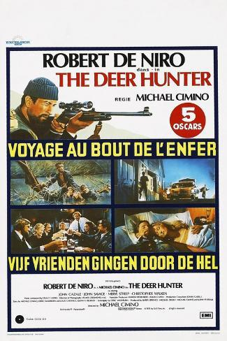 The Deer Hunter (aka Voyage au Bout de L'enfer) Art Print