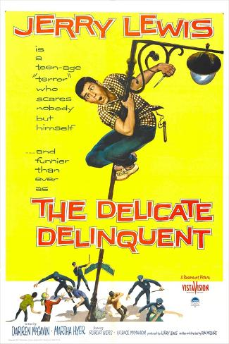 The Delicate Delinquent Art Print