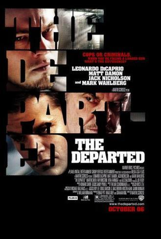 The Departed Póster