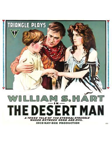 The Desert Man - 1917 Giclee Print
