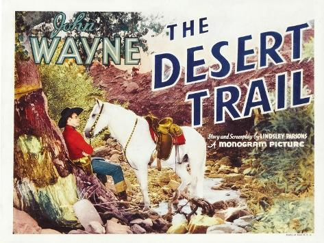 The Desert Trail, 1935 Art Print