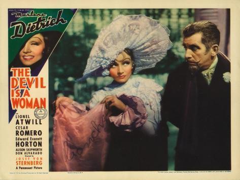 The Devil is a Woman, 1935 Premium Giclee Print