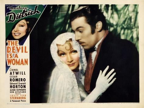 The Devil is a Woman, 1935 Art Print