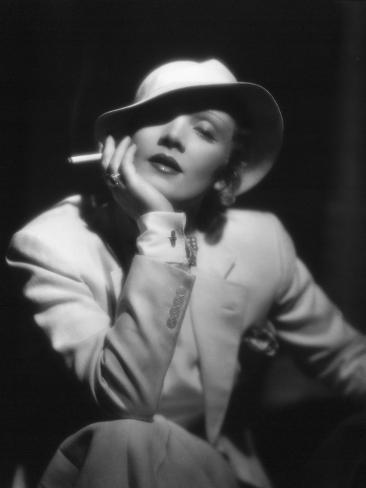 The Devil Is a Woman, Marlene Dietrich, Directed by Josef Von Sternberg, 1935 Photographic Print