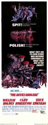 The Devil's Brigade Poster