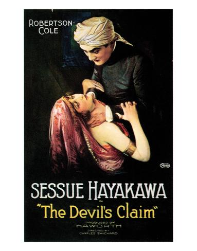 The Devil's Claim - 1920 Giclee Print