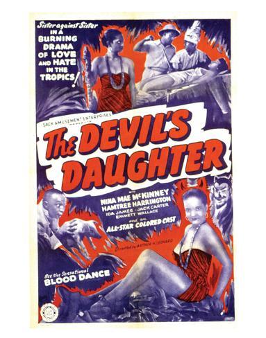 The Devil's Daughter - 1939 Impressão giclée