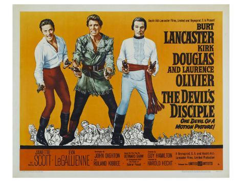 The Devil's Disciple, 1959 Stretched Canvas Print