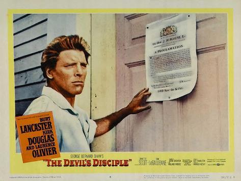 The Devil's Disciple, 1959 Art Print