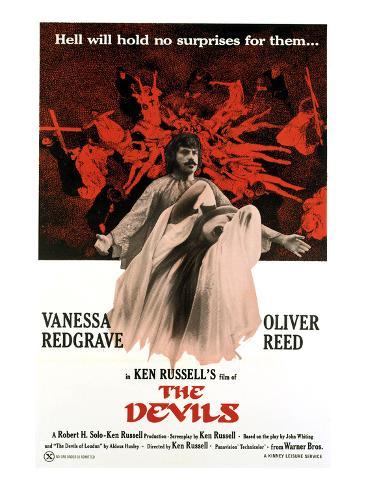The Devils, Oliver Reed, Vanessa Redgrave, 1971 Photo