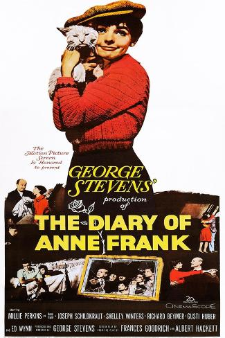 The Diary of Anne Frank Art Print
