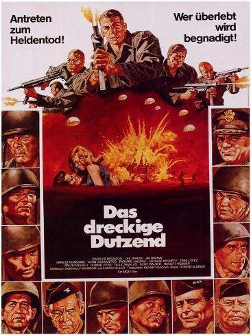 The Dirty Dozen, 1967 Art Print