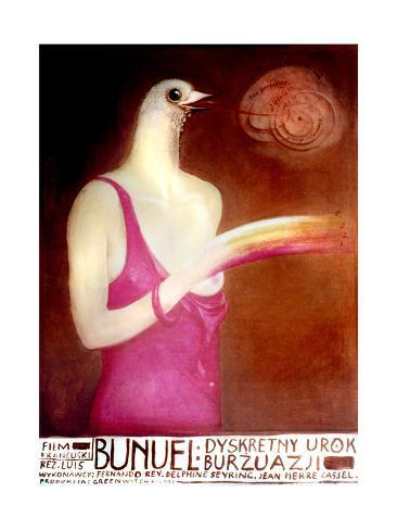 The Discreet Charm of the Bourgeoisie, 1972 Giclee Print