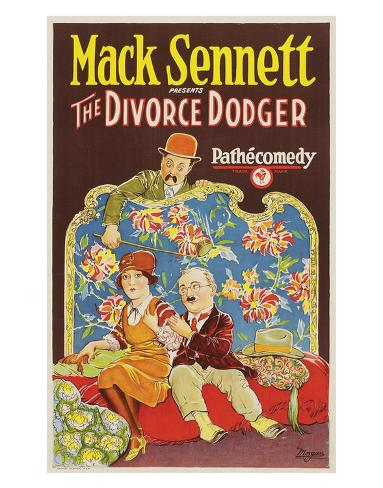 The Divorce Dodger - 1926 Giclee Print