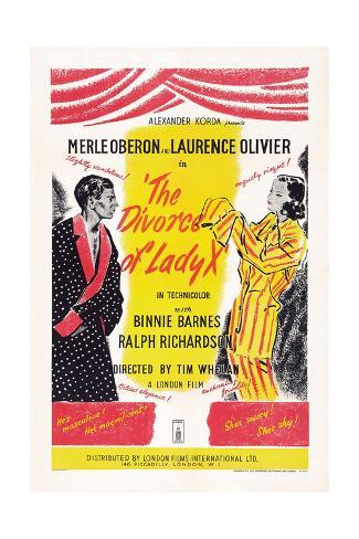 The Divorce of Lady X Giclee Print