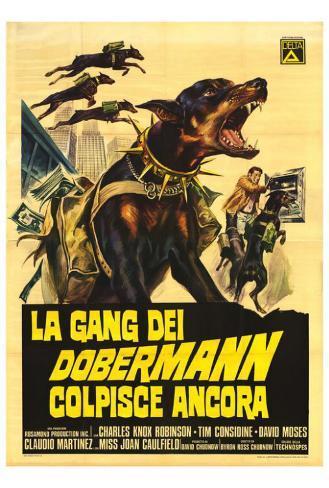 The Doberman Gang - Italian Style Poster