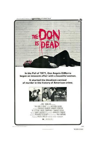 The Don Is Dead Art Print