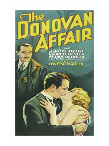 The Donovan Affair Art Print