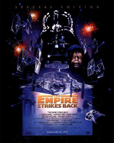 The Empire Strikes Back - Special Edition Poster Card