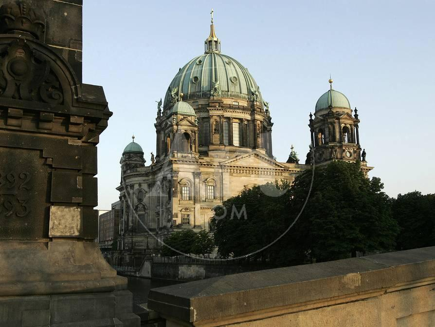 The Evening Sun Hits the Berlin Dome