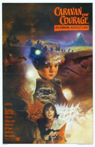 The Ewok Adventure: Caravan of Courage (Warwick Davis) Movie Poster Poster originale