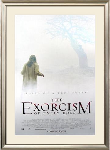 The Exorcism of Emily Rose Pôster emoldurado